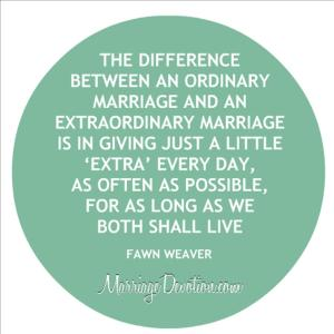 ordinary marriage