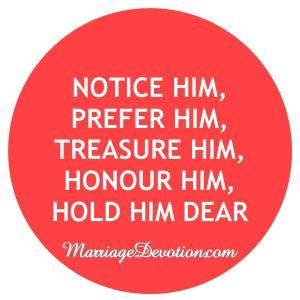 hold him dear